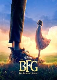 The BFG Disney movie cover