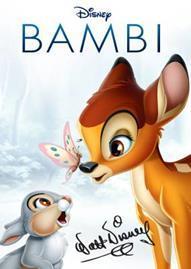 Bambi Disney movie cover