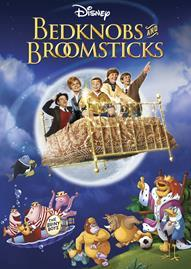 Bedknobs And Broomsticks Special Edition Disney movie cover