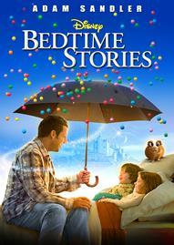 Bedtime Stories Disney movie cover