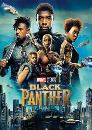 Black Panther Disney movie cover
