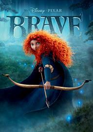 Brave Disney movie cover