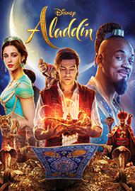 Aladdin (2019) Disney movie cover