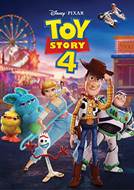 Toy Story 4 Disney movie cover