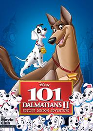101 Dalmatians II Disney movie cover
