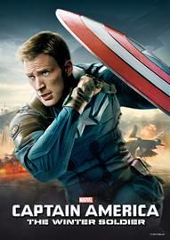 Captain America: The Winter Soldier Disney movie cover