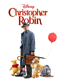 Christopher Robin Disney movie cover