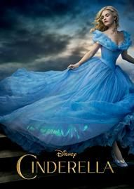 Cinderella (2015) Disney movie cover