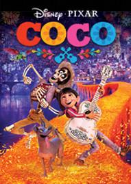 Coco Disney movie cover