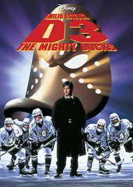 D3: The Mighty Ducks Disney movie cover