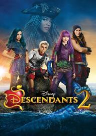 Descendants 2 Disney movie cover