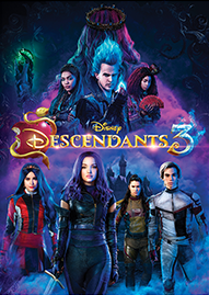 Descendants 3 Disney movie cover