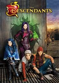 Descendants Disney movie cover