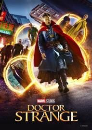Marvel's Doctor Strange Disney movie cover