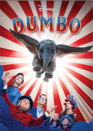 Dumbo (2019) Disney movie cover