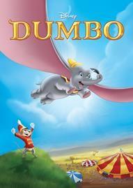 Dumbo Disney movie cover