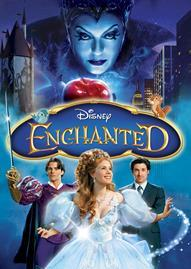 Enchanted Disney movie cover