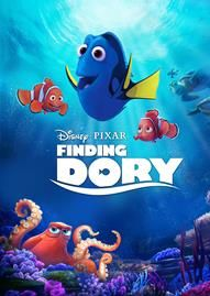 Finding Dory Disney movie cover