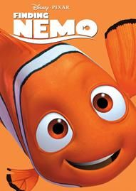 Finding Nemo Disney movie cover