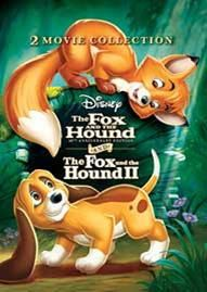 The Fox And The Hound 2-Movie Collection Disney movie cover