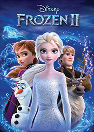 Frozen 2 Disney movie cover