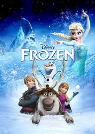 Frozen Disney movie cover
