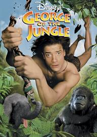 George Of The Jungle Disney movie cover