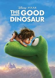 The Good Dinosaur Disney movie cover