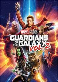 Guardians Of The Galaxy Vol. 2 Disney movie cover