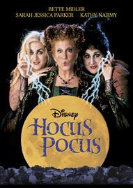 Hocus Pocus Disney movie cover