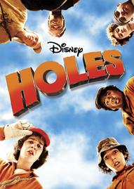 Disney's Holes Disney movie cover