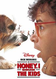 Honey, I Shrunk The Kids Disney movie cover