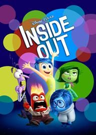 Inside Out Disney movie cover