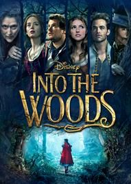 Into The Woods Disney movie cover