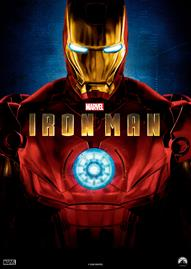 Iron Man Disney movie cover