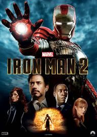 Iron Man 2 Disney movie cover