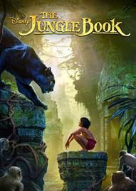The Jungle Book (2016) Disney movie cover