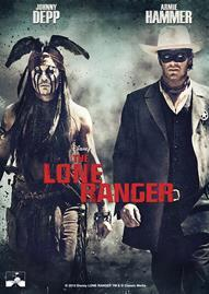 The Lone Ranger Disney movie cover