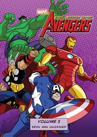 Marvel The Avengers: Earth's Mightiest Heroes Volume 3 Disney movie cover