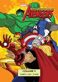 Marvel The Avengers: Earth's Mightiest Heroes Volume 4 Disney movie cover