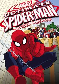 Ultimate Spider-Man: Avenging Spider-Man Disney movie cover