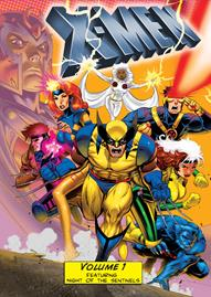 Marvel X-Men Volume 1 Disney movie cover