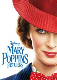 Mary Poppins Returns Disney movie cover