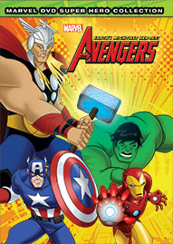 Marvel The Avengers: Earth's Mightiest Heroes Volume 1 Disney movie cover