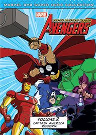 Marvel The Avengers: Earth's Mightiest Heroes Volume 2 Disney movie cover