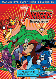 Marvel The Avengers: Earth's Mightiest Heroes Volume 5 Disney movie cover