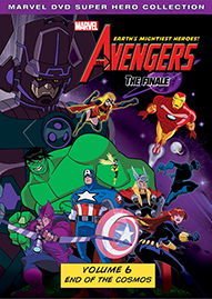 Marvel The Avengers: Earth's Mightiest Heroes Volume 6 Disney movie cover