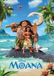 Moana Disney movie cover