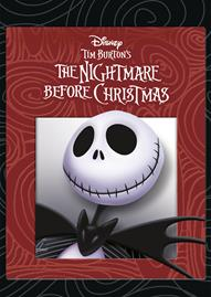 Tim Burton's The Nightmare Before Christmas Disney movie cover