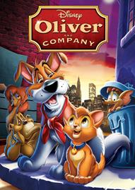 Oliver And Company Disney movie cover